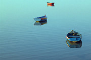 Wooden Boat Photos - Calmness by Jose Elias - Sofia Pereira