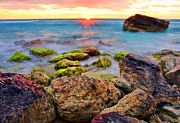 Featured Prints - Cancun Sunrise Print by Marcia Colelli