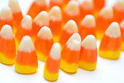 Treat Posters - Candy Corn Army Poster by Amy Cicconi