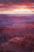 Monsoon Posters - Canyon of the West Poster by Peter Coskun