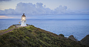 Illuminated Framed Prints - Cape Reinga Lighthouse Northland New Zealand Framed Print by Colin and Linda McKie
