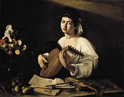 Music Score Photos - Caravaggio, Michelangelo Merisi Da by Everett