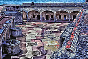 Puerto Rico Digital Art Acrylic Prints - Castillo de San Cristobal Acrylic Print by Thomas R Fletcher