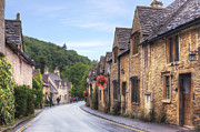 Main Street Metal Prints - Castle Combe Metal Print by Joana Kruse