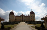 Germany Pastels Metal Prints - Castle Moritzburg - Germany Metal Print by Christiane Schulze