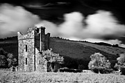 Infra Red Prints - Castle Ruins / Ireland Print by Barry O Carroll