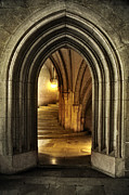 Portal Photo Originals - Castle Stairs by Marian Garai