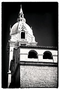 Catherine White Prints - Cathedral in Cartagena Print by John Rizzuto