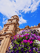 Incarnation Prints - Cathedral in Malaga Print by Karol Kozlowski