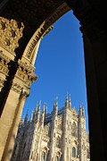 Renaissance Sculpture Prints - Cathedral of Milan Italy Print by Cristina Sferra
