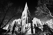 John The Evangelist Prints - cathedral of st John the Evangelist Saskatoon Saskatchewan Canada Print by Joe Fox