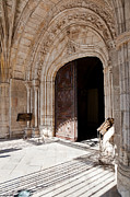 Entrance Door Framed Prints - Cathedral Portal Framed Print by Jose Elias - Sofia Pereira