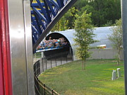 Point Prints - Cedar Point - Millennium Force - 12122 Print by DC Photographer