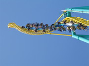 Point Prints - Cedar Point - Wicked Twister - 12122 Print by DC Photographer