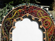 Celtic Ceramics - Celtic Mosaic Frame by Charles Lucas