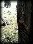 West Fork Digital Art - Cemetery of Beech Fork  by Kelsie Kessick