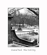 Gotham City Framed Prints - Central Park Framed Print by Peter Vaccino
