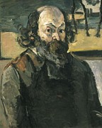 Self-portrait Photos - Cezanne, Paul 1839-1906. Self Portrait by Everett