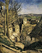 Auvers Sur Oise Posters - Cezanne, Paul 1839-1906. The House Poster by Everett