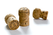 Stopper Photos - Champagne Corks by Lee Avison