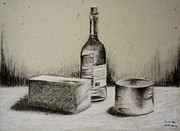 Stephan Grixti - Charcoal Still Life