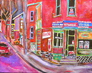 Litvack Paintings - Charlevoix Depanneur by Michael Litvack