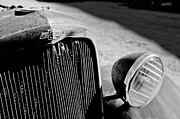 Chevrolet Metal Prints - Chevrolet Grille Emblem - Head Light Metal Print by Jill Reger