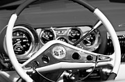Steering Framed Prints - Chevrolet Impala Steering Wheel Framed Print by Jill Reger