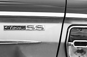 Muscle Cars Photos - Chevrolet Nova SS Taillight Emblem by Jill Reger