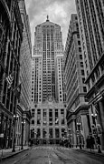 Chicago Board Of Trade Posters - Chicago Board of Trade Poster by Mike Burgquist