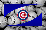 Baseballs Posters - Chicago Cubs Poster by Joe Hamilton