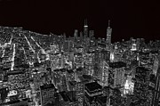 Chicago Photography Posters - Chicago Poster by Jeff Lewis