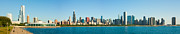 Chicago Attractions Posters - Chicago Lake Front Poster by Semmick Photo