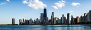 Chicago Prints - Chicago Panorama Skyline Print by Paul Velgos