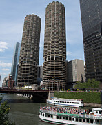 Cobb Originals - Chicago river  by Patrick  Warneka