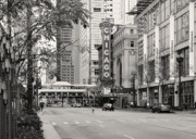 Street View Prints - Chicago Theatre - French Baroque out of a movie Print by Christine Till