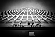 Terminal Metal Prints - Chicago Union Station in Black and White Metal Print by Paul Velgos