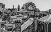 Chimneys Prints - Chimneys at the Rocks Sydney Print by Sheila Smart