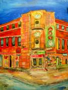 Michael Litvack Art - Chinatown Corners by Michael Litvack
