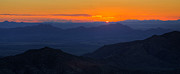 Chiricahua Mountain First Light Print by  Reid Helms