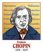 Chopin Prints - Chopin Print by Paul Helm