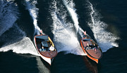 Chris Craft Photos - Chris-Craft Aerial by Steven Lapkin