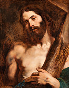 Famous Artists - Christ carrying the Cross by Anthony van Dyck