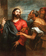 Famous Artists - Christ of the Coin by Anthony van Dyck