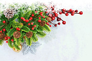 Snow Cone Originals - Christmas background by Kirsty Pargeter