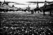 Onion Domes Photos - Christmas in Red Square by Mountain Dreams