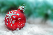Christmas Holiday Scenery Art - Christmas ornament by Michal Bednarek