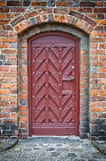 Medieval Temple Photo Prints - Church Door 02 Print by Antony McAulay
