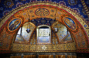 Mosaic Photos - Church interior by Elena Elisseeva