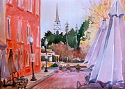 Cobb Originals - Church Through the Tracks by Kathy Rennell Forbes